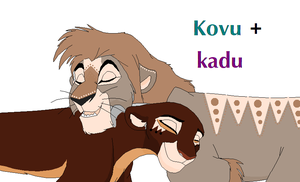Kovu +Kadu ~ Breedables OPEN by Foreverloved525