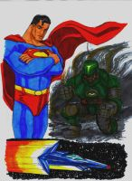 Superman Sketches 2 by Jochimus