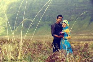 Love at Bromo by ariszaja
