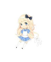 Alice chibi by honeybear78