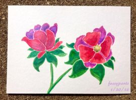 Iridescent Roses by TheFussypants