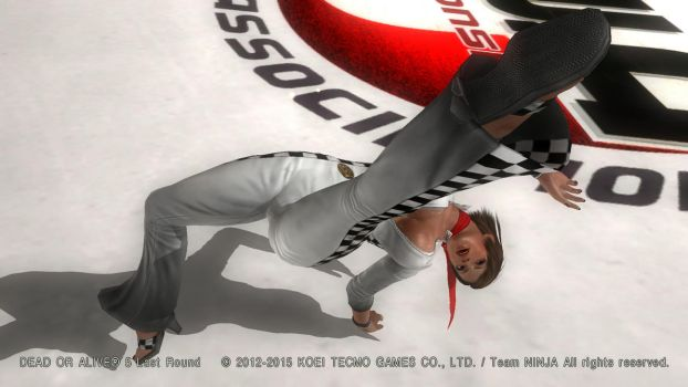DEAD OR ALIVE 5 Last Round  Lisa17 by aponyan