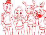 Five Nights at Freddy's by TheKraziesReside