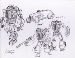 Autobot sketch 'Deuce' by Jepray