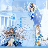 Ah My Goddess-belldandy- Yt Bg by saherqureshi
