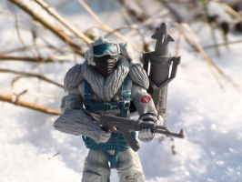 GI Joe in the snow by johanstorm