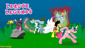 My Little League of Legends by poketboyfrodo