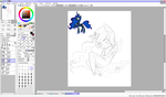 Princess Luna Chibi WIP by Art-of-Momoka