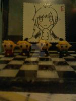 legend of zelda : four link's clay charm by Soul019