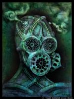 Gothic mask color by ghost-inferno
