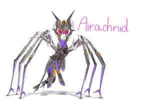 Airachnid from Transformer: Prime as a pony by SpeedFeather