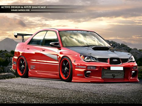 Subaru Impreza WRX by Active-Design