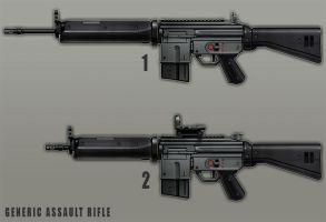 Generic Assault Rifle by dfacto