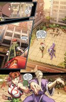 Street Fighter II issue 2 pg12 by UdonCrew