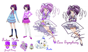 Suite PreCure Todou Koto - Cure Symphony by zakuro-onee-chan