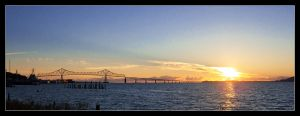 Astoria Waterfront by AnonymousPhotography