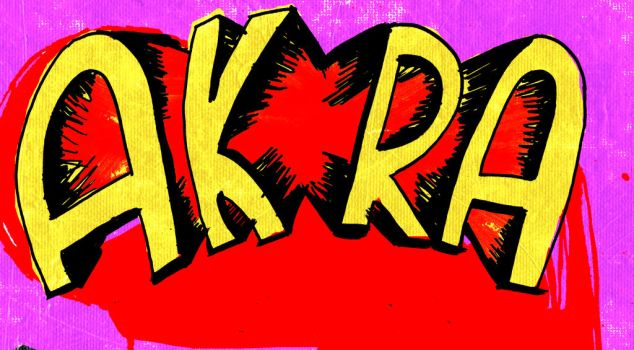 Unused AKIRA title by JBinks