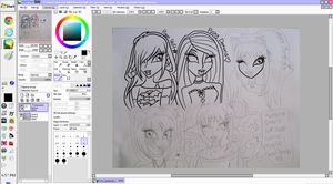 Gift for awesome people WIP by DesuPanda98