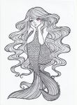 Mermaid mood -in love- by Aino-Fred