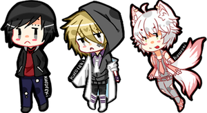 Request Batch 1 Mini Cheebs by kuroreki