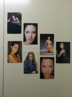ANGELINA JOLIE PHOTOS IN MY KITCHEN by RetardMessiah