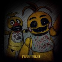 Toy Chica Takes a Selfie by fanastycat
