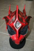 Demonic helmet 2 by Damiane