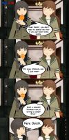 [MMD]Kitakami to Ooi: Waiting for that candy by mlcm77