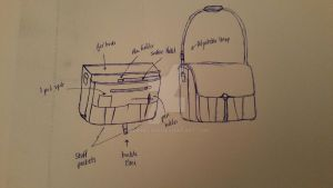 Messenger Bag Concept by Perihelian