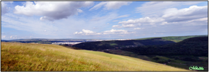 Cluj panorama from hills by Miha3lla