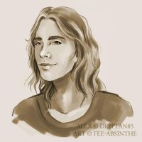 Portrait Commission: Alex by fee-absinthe