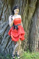 Red Satin 26 by Anariel-Stock