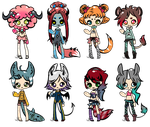 REDUCED-Mini Adopts [CLOSED] by joaniek