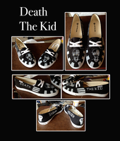 Death the Kid Shoes by Snuckledrops