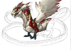 dragon quetzalcoatl by Rick-Lee