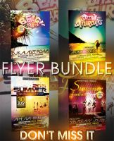 SUMMER FLYER BUNDLE - 4IN1 by retinathemes