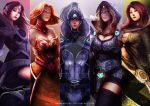 Dota 2 Sentinel Girls by nahnahnivek