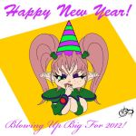 Happy New Year - 2012 by BalloonPrincess