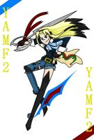 YAMF2 ID as a card by YouAskMeFirst2