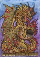 ACEO Dragon 12 by rachaelm5