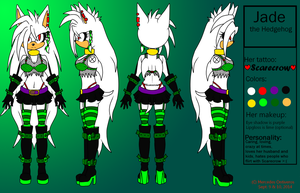 Jade Reference Sheet 2014 by xl-Jade-lx