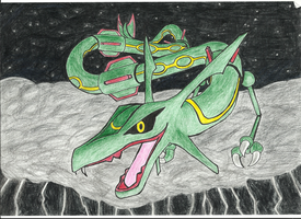 Rayquaza Coming at You by BestTimes8812