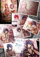 my works while hiatusing :'D by ahoguu