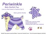 Periwinkle the Starfish Pup Reference by LeiliaClay