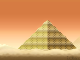 SMB3 Desert Land BG by BLUEamnesiac