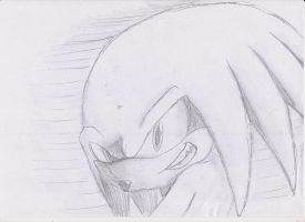 Sonic sketches: Knuckles by nothing111111