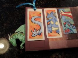 Bookmarks from Aireane01 by Pepper-Dragon