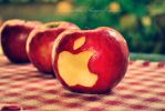 An apple a day by SamanthaPaigeImages