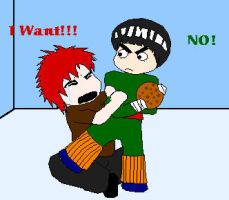 Gaara wants cookie by TheLeeLover
