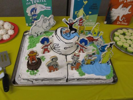 Dr. Seuss Cake by Macguffin